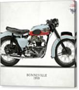 1959 T120 Bonneville Canvas Print