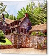 #196 Bourn Cottage Canvas Print