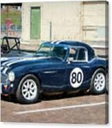 1960 Austin Healey 3000 Canvas Print