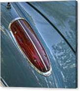 1960 Chevrolet Corvette Tail Light Canvas Print