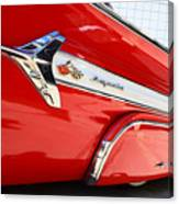 1960 Chevy Impala Low Rider Canvas Print
