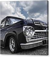 1960 Ford F100 Truck Canvas Print