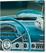 1960 Ford Thunderbird Dash Canvas Print