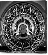 1960 Ford Thunderbird Spare Tire 2 Canvas Print