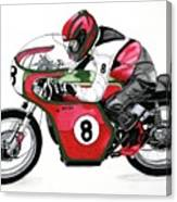 1960s Ducati Desmo Canvas Print