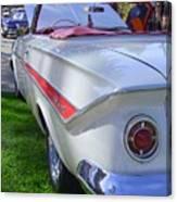 1961 Chevrolet Impala Convertible Canvas Print