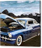 1951 Mercury Classic Car Photograph 005.02 Canvas Print