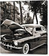 1951 Mercury Classic Car Photograph 006.01 Canvas Print
