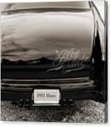 1951 Mercury Classic Car Photograph 018.01 Canvas Print