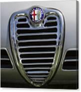 1962 Alfa Romeo Grille Canvas Print