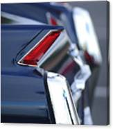 1962 Cadillac Deville Taillights Canvas Print