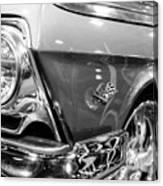 1962 Chevrolet Belair Bubbletop Canvas Print