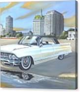 1962 Classic Cadillac Canvas Print