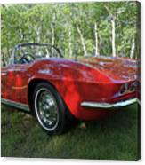 1962 Corvette Canvas Print