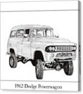 1962 Dodge Powerwagon Canvas Print