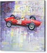 1962 Ricardo Rodriguez Ferrari 156 Canvas Print