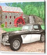 1963 Austin And Sudbury Mill Canvas Print