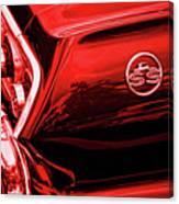 1963 Chevrolet Impala Ss Red Canvas Print