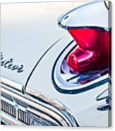 1963 Mercury Meteor Taillight Emblem Canvas Print