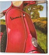 1963 Vespa 50 Canvas Print