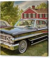 1964 Ford Galaxie 500 Xl Canvas Print