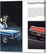 1964 Ford Mustang-08-09 Canvas Print