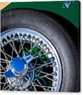 1964 Morgan 44 Spare Tire Canvas Print