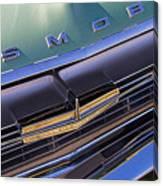 1964 Oldsmobile Jetstar Hood Ornament Canvas Print