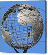 1964 World's Fair Unisphere Canvas Print