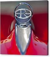 1965 Buick Riviera Hood Ornament Canvas Print