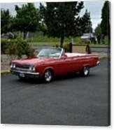 1965 Dodge Coronet 500 Higgins Canvas Print