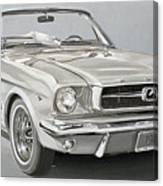 1965 Ford Mustang Canvas Print