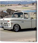 1965 Ford 'twin I Beam' Pickup Canvas Print