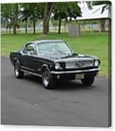 1965 Mustang Fastback Kearney Canvas Print