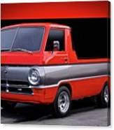 1966 Dodge A100 Pickup Canvas Print