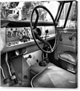 1966 International Scout Driver's Side B Canvas Print