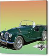 1966 Morgan 4 Plus 4 Canvas Print