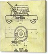 1966 Mower Patent Canvas Print