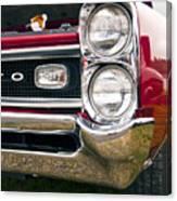 1966 Pontiac Gto Grill Canvas Print