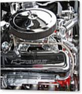 1967 Chevrolet Chevelle Ss Engine Canvas Print