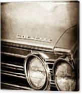 1967 Chevrolet Chevelle Ss Super Sport Emblem -0413s Canvas Print