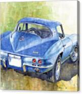1967 Chevrolet Corvette C2 Stingray  Canvas Print