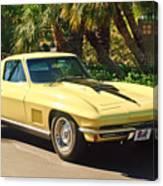 1967 Chevrolet Corvette Sport Coupe Canvas Print