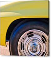 1967 Chevrolet Corvette Sport Coupe Rear Wheel Canvas Print