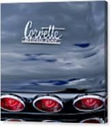 1967 Chevrolet Corvette Taillight 3 Canvas Print