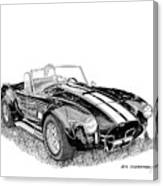 1967 Cobra Sc Canvas Print