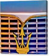 1967 Maserati Sebring Coupe Emblem Canvas Print