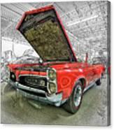 1967 Pontiac Gto American Muscle Car Canvas Print