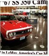 1967 Ss 350 Camaro Scharf Canvas Print