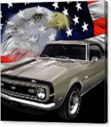 1968 Camaro Ss Tribute Canvas Print